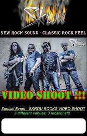 Skrou Video Shoot Promo Poster