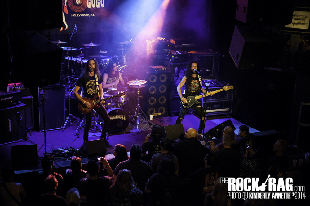 Ragdoll Australia's Newest Rock Trio at the Whisky