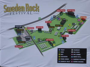 Sweden Rock 2014 Grounds